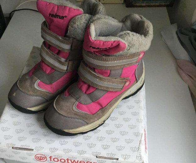 Тёплые ботиночки reima. Фото 1. Москва.