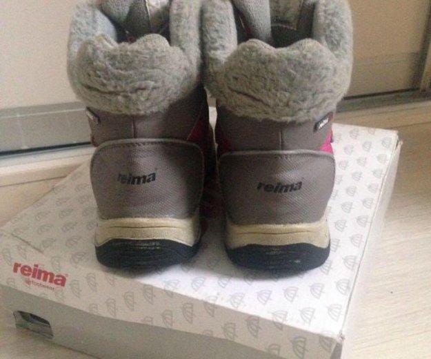 Тёплые ботиночки reima. Фото 3. Москва.
