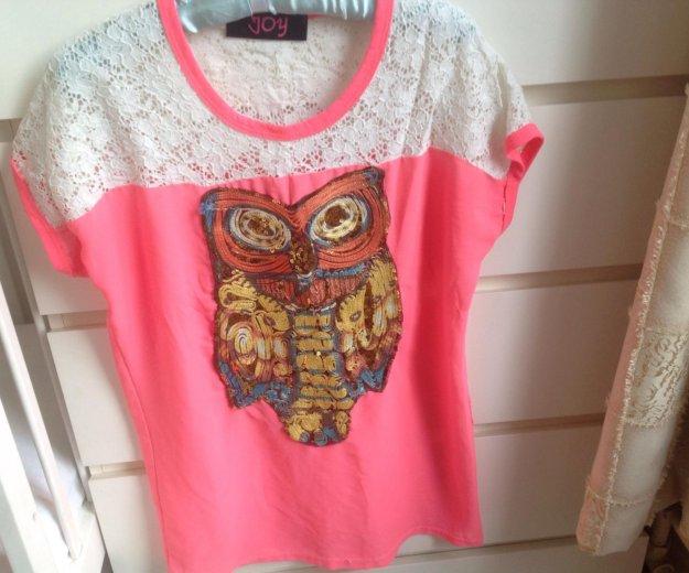 Или обмен футболка с совой с пайетками joy. Фото 1. Москва.
