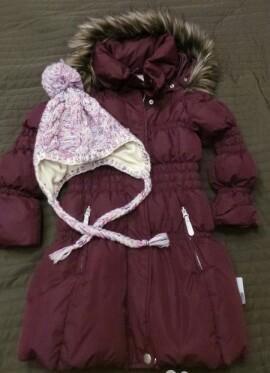 Куртка (пуховик) для девочки name it. Фото 2. Москва.