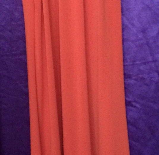 Платье michael kors оранжевое р-р 40- 46. Фото 2. Москва.