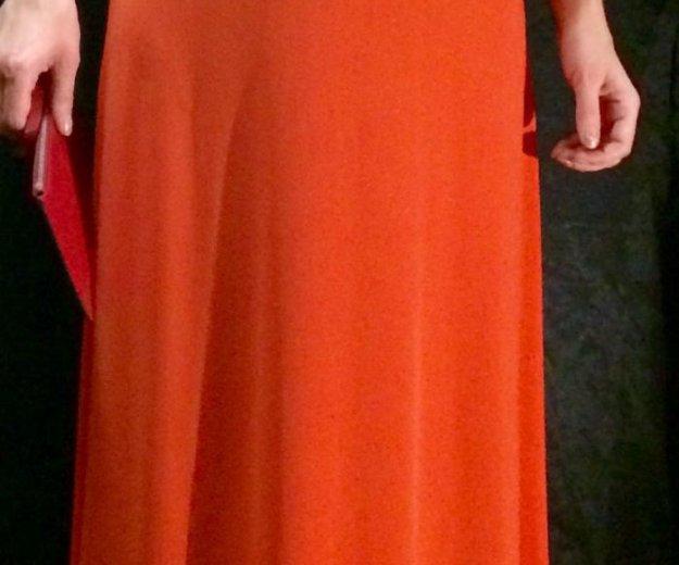 Платье michael kors оранжевое р-р 40- 46. Фото 4. Москва.