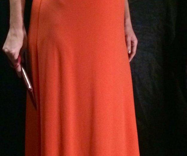Платье michael kors оранжевое р-р 40- 46. Фото 3. Москва.