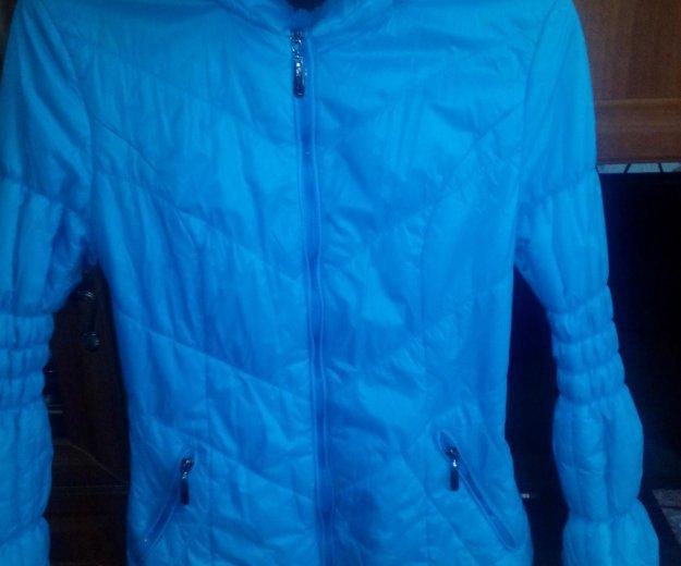 Продам  курточку..состояние новой.)очень стильная. Фото 4. Новосибирск.