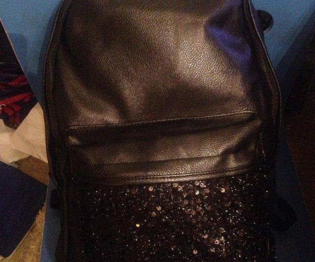 Рюкзак из искусственной кожи. Фото 2. Санкт-Петербург.
