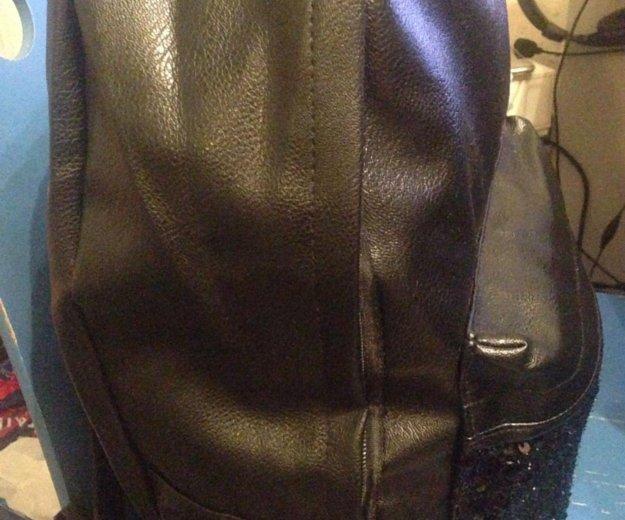 Рюкзак из искусственной кожи. Фото 4. Санкт-Петербург.