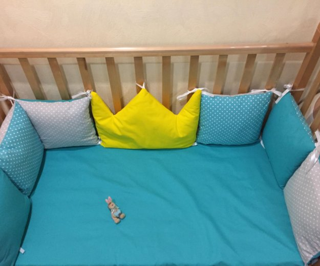 Набор в кроватку новый. Фото 3. Омск.
