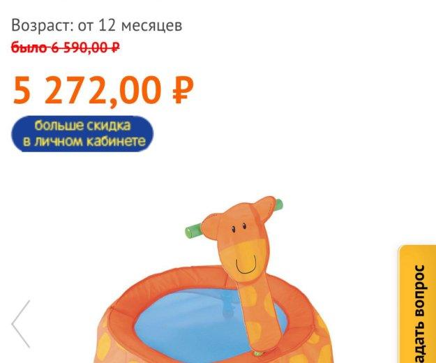 Батут жираф elc. Фото 3. Москва.