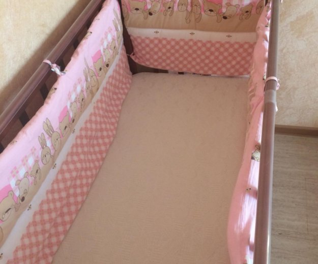 Детская кроватка. Фото 2. Комсомольск-на-Амуре.