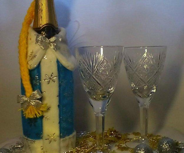 Праздничный чехол на шампанское. Фото 2. Новозыбков.