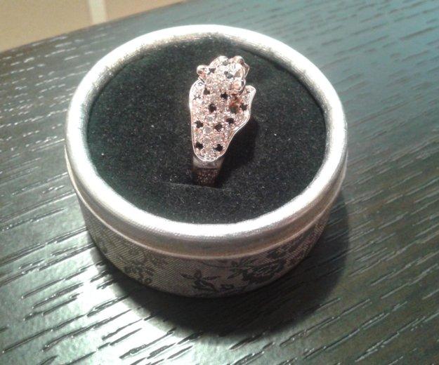Кольцо пантера с кристаллами. Фото 4. Москва.