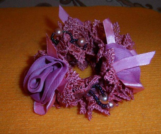Новая резинка с розами и бисером. Фото 2. Омск.