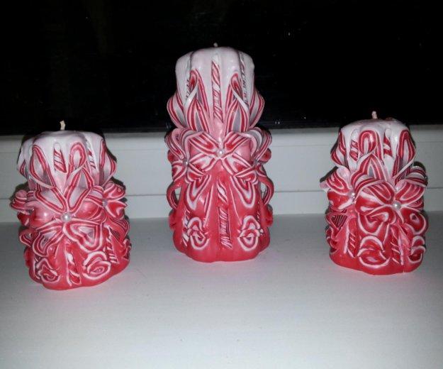 Резные свечи. Фото 1. Гурьевск.
