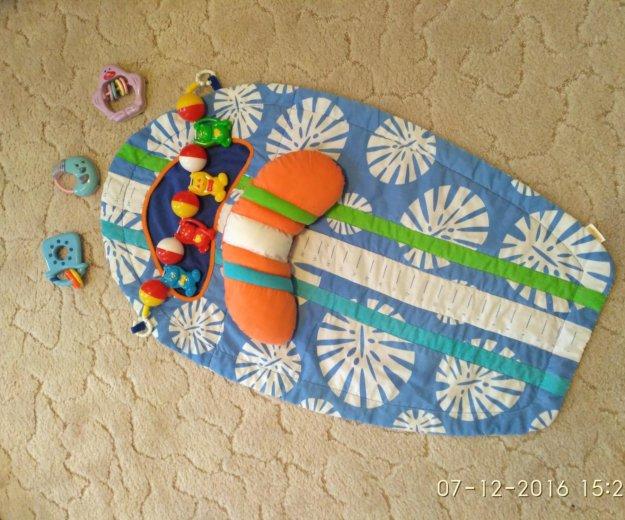 Развивающий коврик с подушечкой. Фото 1. Жуковский.