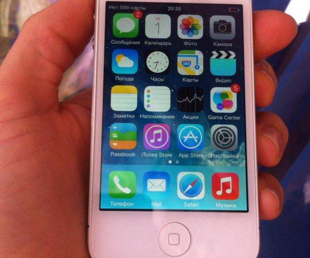 Iphone 4 память 8gb!. Фото 1. Новороссийск.