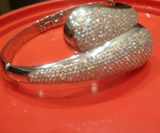 Серебрянный браслет- италия 925 проба. Фото 1. Грозный.