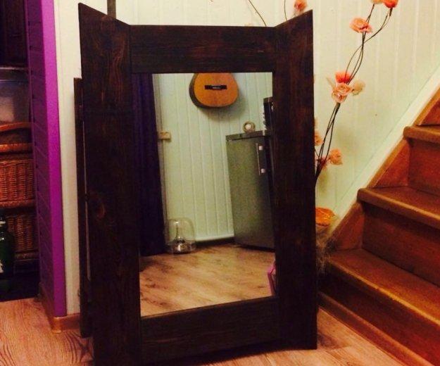 Старинное зеркало. настенное!. Фото 4. Малаховка.