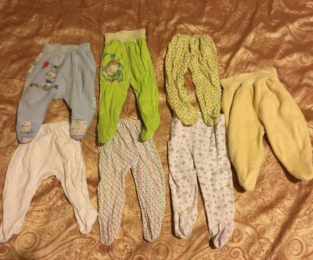Вещи на новорожденного 0-3 месяца распашонка штаны. Фото 2. Москва.