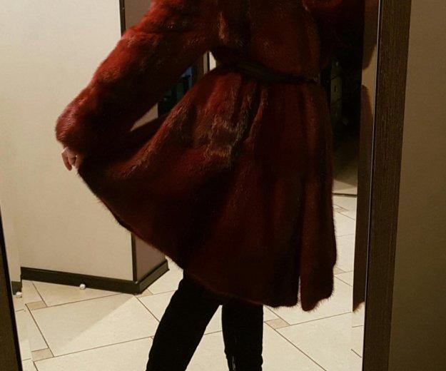 Норковая шуба. Фото 1. Кемерово.