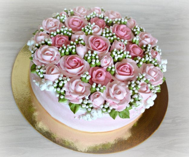 Свадебные торты. Фото 4. Санкт-Петербург.