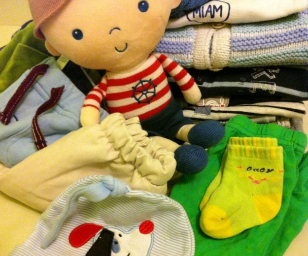 Одежда на малыша. Фото 1.