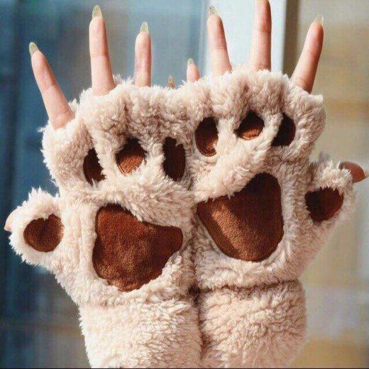 Перчатки без пальцев лапки новые. Фото 2. Москва.