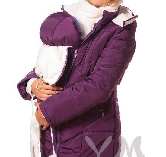 Зимняя слингокуртка yammy mammy. Фото 1. Москва.