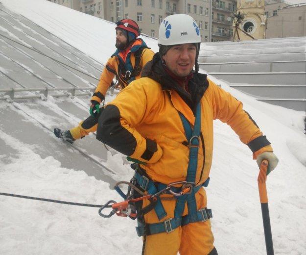 Промышленный альпинист. Фото 3. Москва.