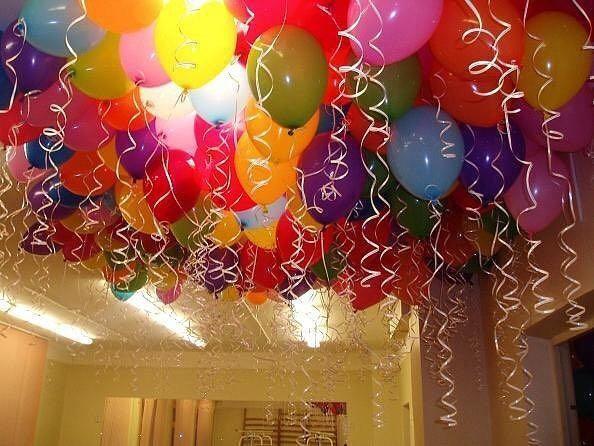 Гелиевые шары. Фото 1. Москва.