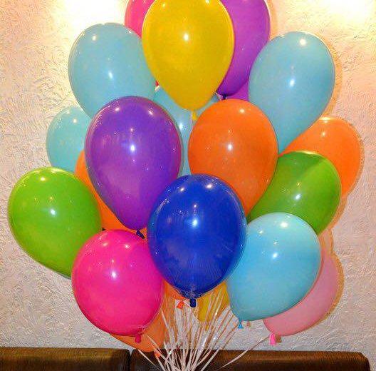 Гелиевые шары. Фото 2. Москва.