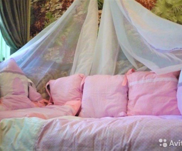 Комплект в кроватку новый 7 предметов. Фото 2. Динская.