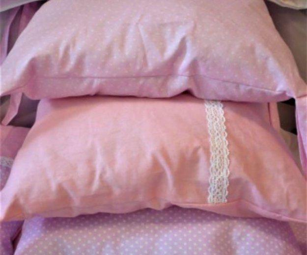 Комплект в кроватку новый 7 предметов. Фото 4. Динская.