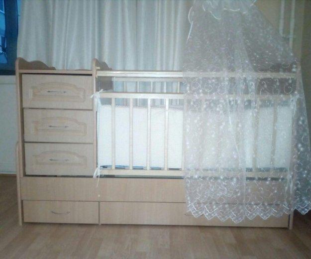 Кроватка + подарки. Фото 1. Екатеринбург.