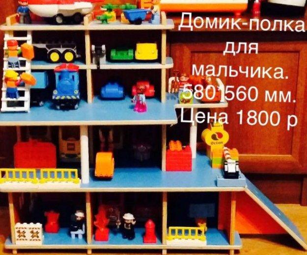 Домик-полка для мальчика. Фото 2. Красноярск.
