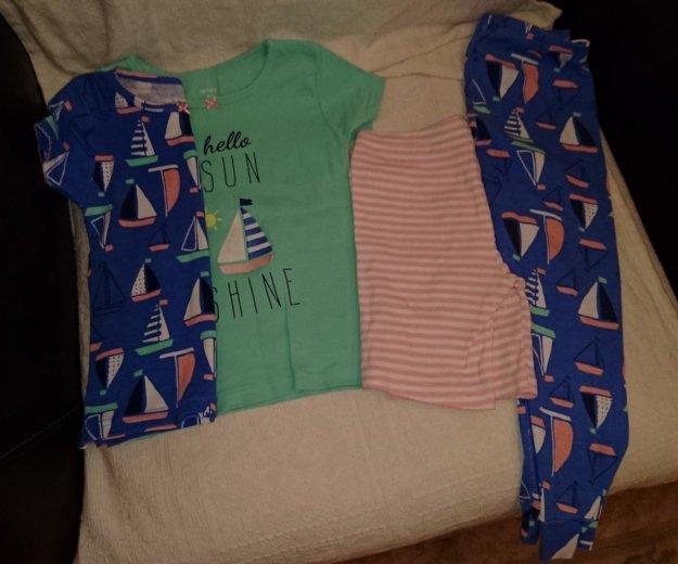 92-104 3-4г пижама для девочки carters сша. Фото 1. Москва.