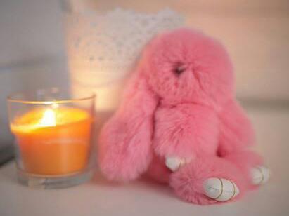 Брелок кролик из натурального меха. Фото 4. Москва.
