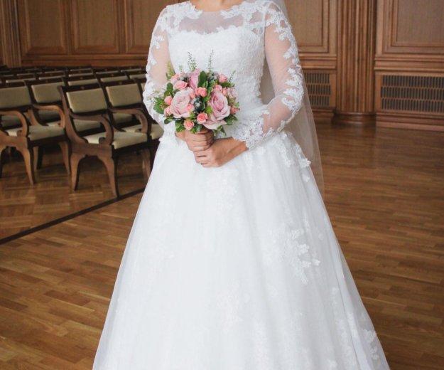 Продам красивое свадебное платье. Фото 1. Пенза.