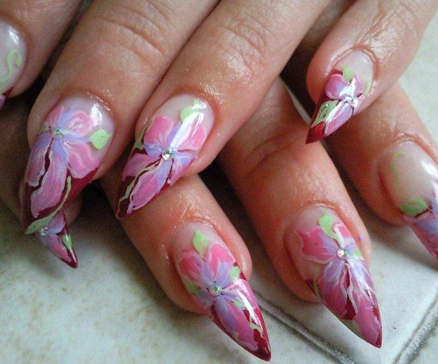Наращивание и дизайн ногтей гель,шилак. Фото 4. Зеленоград.