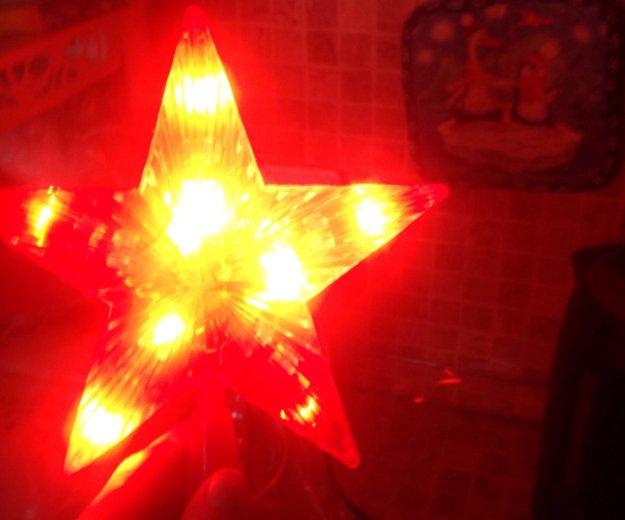 Звезда на ёлку. Фото 2. Москва.