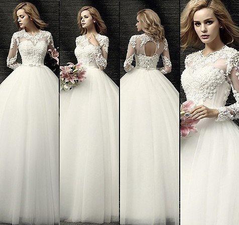 Свадебное платье . Фото 4. Владивосток.