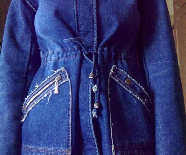 Куртка джинсовая. Фото 1. Белая Калитва.