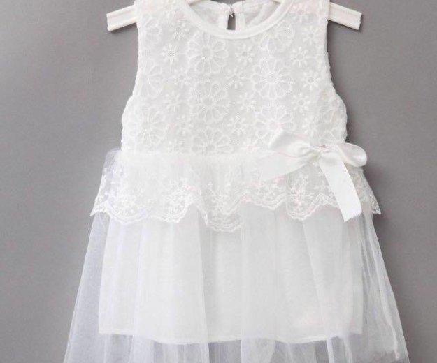 Нарядное белое новое платье. Фото 2. Химки.