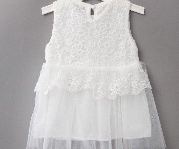 Нарядное белое новое платье. Фото 3. Химки.