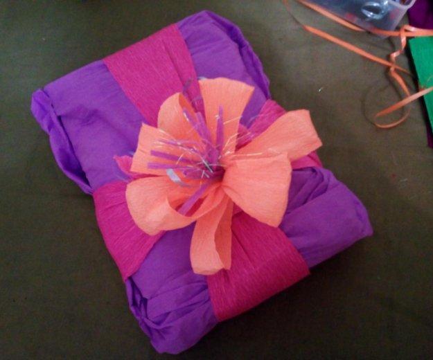 Оргинальная упаковка подарков. Фото 3. Климовск.