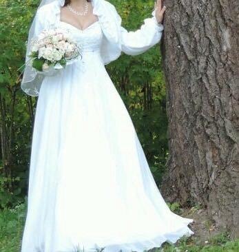 Свадебное плать. Фото 4. Поварово.
