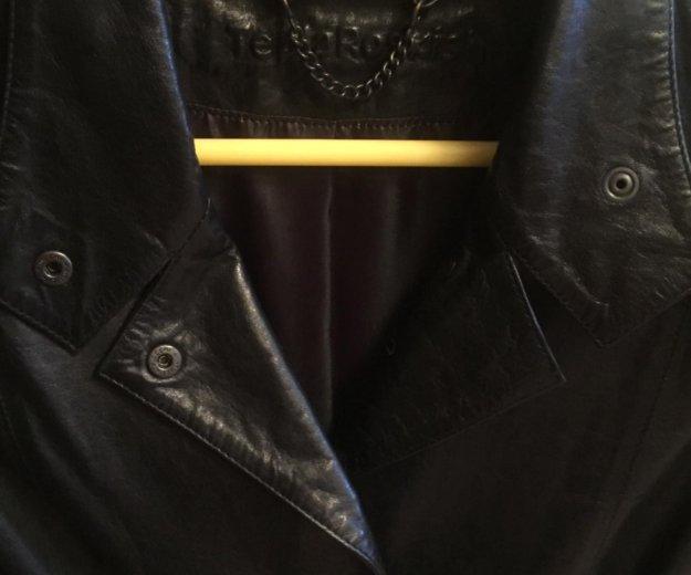 Кожаная куртка новая. Фото 2. Зеленоград.