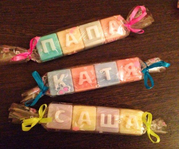 Мыльные кубики с буквами. Фото 1. Новоуральск.