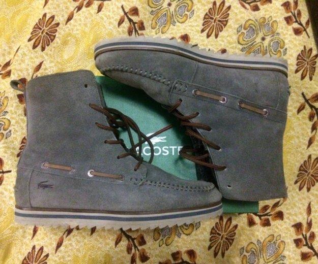 Теплые ботинки lacoste. Фото 1. Краснодар.