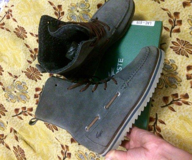 Теплые ботинки lacoste. Фото 2. Краснодар.