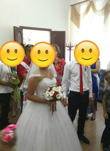 Цена снижена!!свадебное платье)). Фото 1. Домодедово.